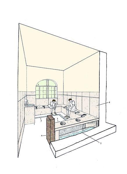 Il·lustració_d'una_escena_a_les_latrines_de_l'edifici_dels_banys_de_la_vil·la_romana_dels_Munts